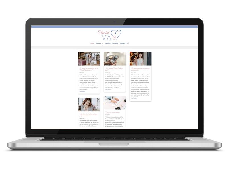 Blog Chantal VA by heart